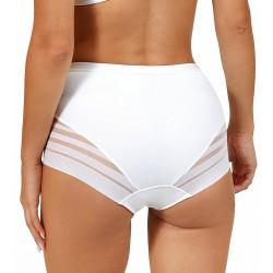 Alegra culotte taille haute blanche Lisca dos