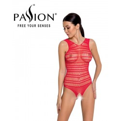 Body ouvert BS086 Lingerie Passion rouge