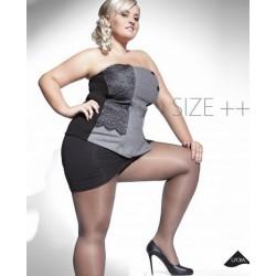 KIARA Collant 20Den Noir Size ++ Adrian
