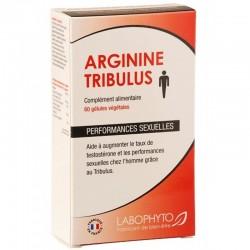 Arginine Tribulus 60 gélules LaboPhyto