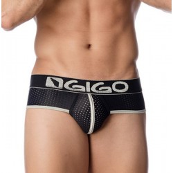 HOLLOW Slip noir Gigo