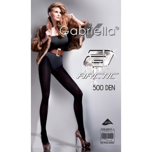 ARCTIC Collant Microfibre Noir Gabriella