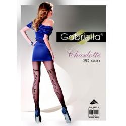 CHARLOTTE 40 Den Collant Noir Gabriella