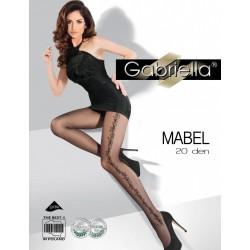 MABEL 20 Den Collant Noir Gabriella
