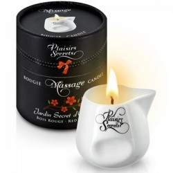 Bougie de massage Plaisirs Secrets 15 parfums au choix