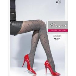 CASTILLA Collants 40Den Fiore