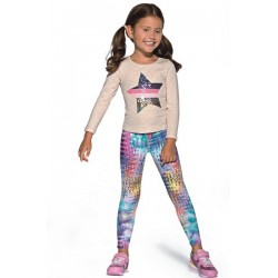 DIXI Legging Enfant Bas Bleu