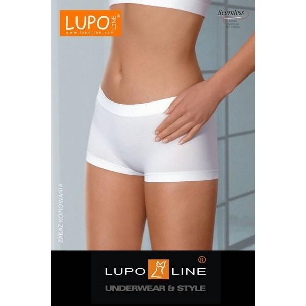 Boxer Microfibre Lupoline Blanc