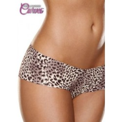 Shorty Invisible Leopard Hollywood Curves