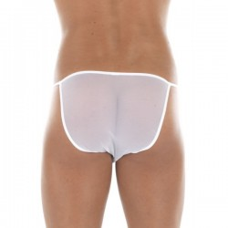 TRANSITION Tanga Blanc  Look Me dos