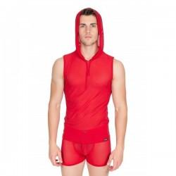 MALIBU II V-Shirt Rouge