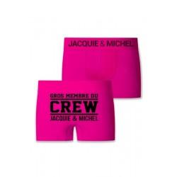 Boxer Microfibre Crew 13231 ES Jacquie et Michel