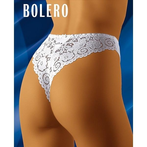 BOLERO Tanga Blanc WolBar