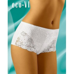 Eco-Vi Shorty Blanc ou Noir Coton WolBar