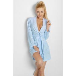 INGA Robe de chambre DKaren bleue